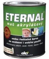 Eternal mat akrylátový 10 kg 09 tmavě hnědý