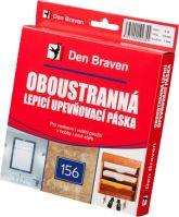 Den Braven lepící páska 19x1 B5262BD oboustranná