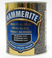 Hammerite tepaná 750 ml stříbrno-šedá