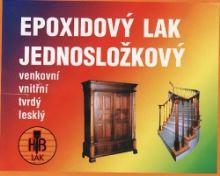 Epoxidový lak 0,7 kg jednosložkový - lesk