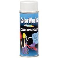 Colorworks 400 ml 9005 černá lesklá