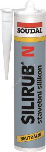 Soudal - Silirub N 310 ml neutrální silikon čirý
