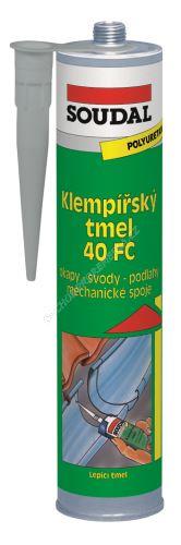 Soudal - Klempířský tmel 40 FC 310 ml  šedý