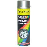 Motip sprej 500 ml 04007 na disky kol stříbrná