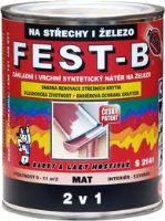 Fest B 0,75 l šedý