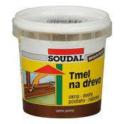 Soudal - Tmel na dřevo 250 g bílý