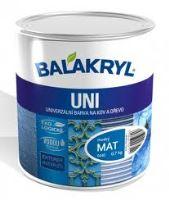 Balakryl uni mat V 2045  0,7 kg 0440 modrý