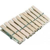 Količky na prádlo 20 ks 958006 dřevěné