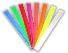 reflexní pásky samonavíjecí bílá