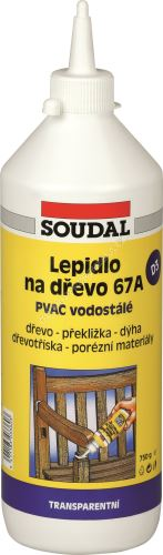 Soudal - Lepidlo na dřevo 750 g 67A vodostálé