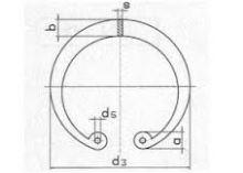 Vnitřní kroužek ČSN 02 2931 - DIN 472