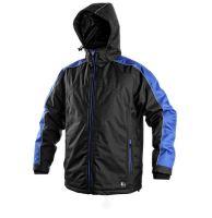 Pánská zimní bunda Brighton černo-modrá