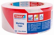 páska výstražná 138271 červeno-bílá 33m*50mm