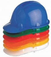 Přilby Stavbař různé barvy