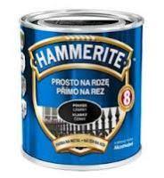 Hammerite hladká 250 ml černá